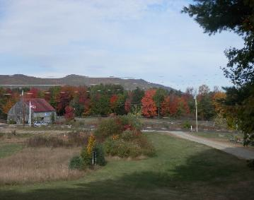 Fall Colors Surround The Denmark Stage Stop House